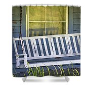 Swinging At The Cottage Shower Curtain