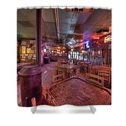 Swinging Doors At The Dixie Chicken Shower Curtain