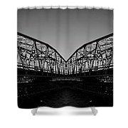 Swinging Reflection Shower Curtain