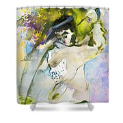 Swinging The Dreams Shower Curtain