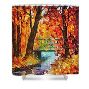 Swinging Time Shower Curtain