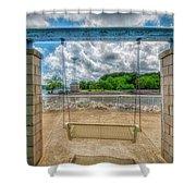 Swingless Shower Curtain