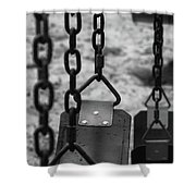 Swings Shower Curtain