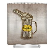 Swingspout Oil Canister Shower Curtain