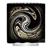 Swirl Design 3 Shower Curtain