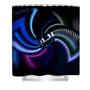 Swirlerator Shower Curtain