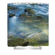 Swirling Pools Shower Curtain