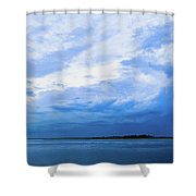 Swirling Sky Shower Curtain