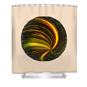 Swirls And Curls Shower Curtain