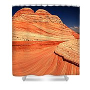 Swirls And Petrified Dunes Shower Curtain