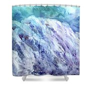 Swiss Alps - My Interpretation Shower Curtain