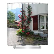 Swiss Cottage Shower Curtain