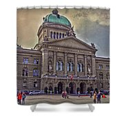 Swiss Federal Palace Shower Curtain