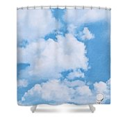 Swiss Lanes Shower Curtain