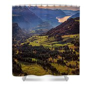 Switzerland Shower Curtain