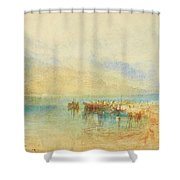 Switzerland  Possibly Lake Shower Curtain