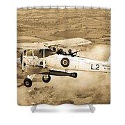 Swordfish Aircraft Shower Curtain