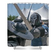 Swords Shower Curtain