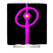 Sybil Shower Curtain by Eikoni Images