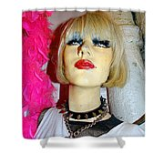 Sybil In Studs Shower Curtain