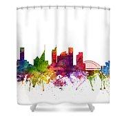 Sydney Australia Cityscape 06 Shower Curtain