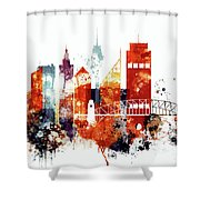 Sydney Cityscape Shower Curtain