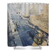 Sydney, George St. In 1930 Shower Curtain