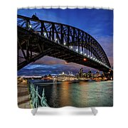 Sydney Harbor Bridge Shower Curtain