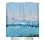 Sydney Harbour And The Opera House Shower Curtain