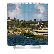 Sydney Harbour Panorama Shower Curtain
