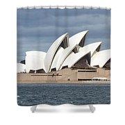 Sydney Opera House Panorama Shower Curtain
