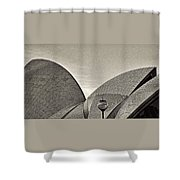 Sydney Opera House Roof Detail Shower Curtain