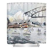 Sydney Opera  Shower Curtain