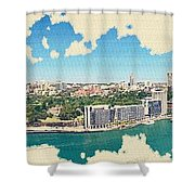 Sydney Serenade Shower Curtain
