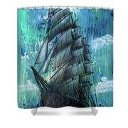 Syfy- Ship Shower Curtain
