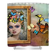 Sylph II Shower Curtain