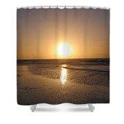 Sylt Sunset 6 Shower Curtain