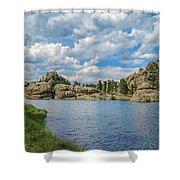 Sylvan Lake South Dakota Shower Curtain