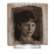Sylvia Plath Shower Curtain