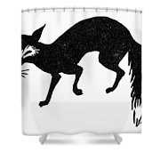 Symbol: Fox Shower Curtain