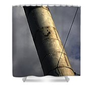 Symbol Of Progress Shower Curtain