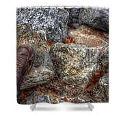Symbolic Steps Of Life Shower Curtain