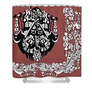 Symbology Shower Curtain