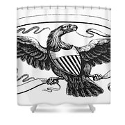 Symbols: American Eagle Shower Curtain