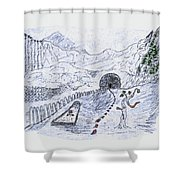 Symbols Are An Ism Shower Curtain