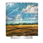Symbols Of Hope And Eternity Shower Curtain