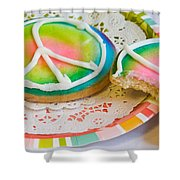 Symbols Of Peace Shower Curtain