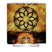 Symbols Of The Occult Shower Curtain
