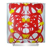 Symmetry 21 Shower Curtain