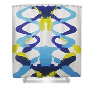 Symmetry 23 Shower Curtain